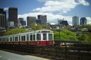 August in Boston